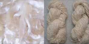 Mulberry and Tussah silk