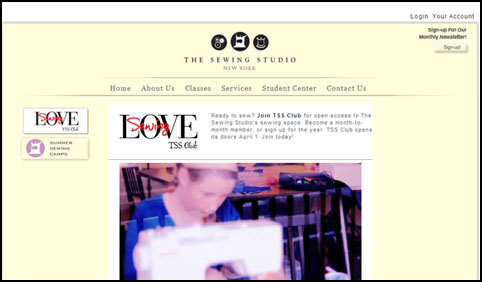 Sewing Studio featured