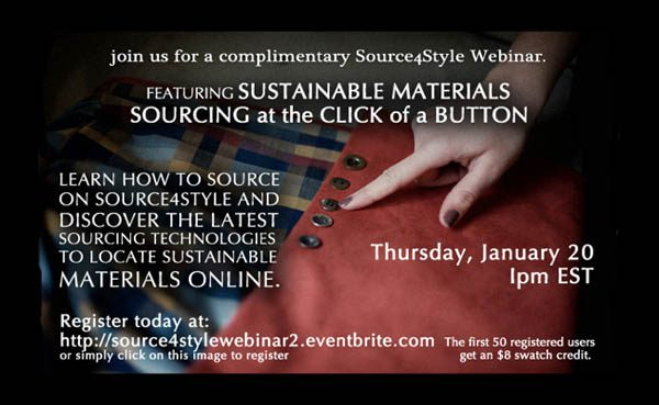 Source4Style Textile Sourcing Seminar
