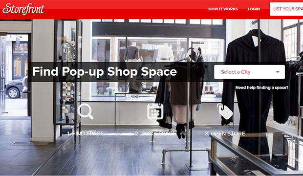 Storefront Pop Up Space