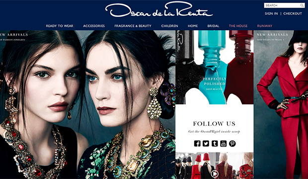 oscar de la renta launches campaign on instagram